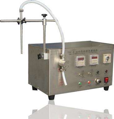 高精度磁力泵液体灌装机