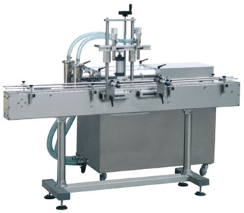直线式双头液体灌装机