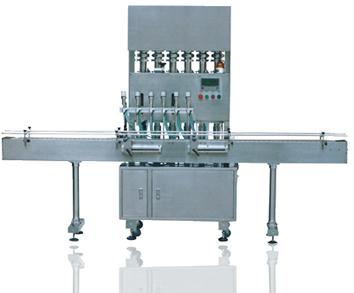 全自动直线式液体灌装机