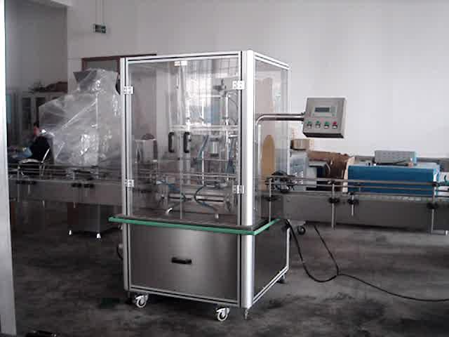 双计量全自动定量食用油灌装机相关产品