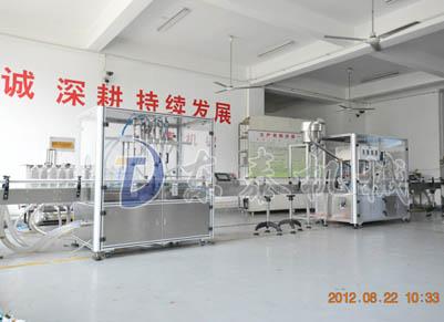 密排定位农药液体灌装机