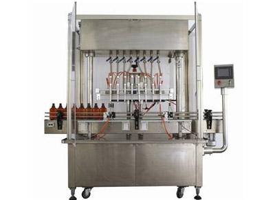 同步灌装果汁、饮料液体灌装机